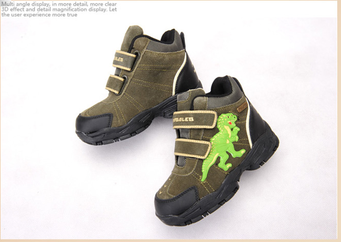 Dinosles Leather Boots 12081