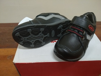 black Leather Boys' Shoes 51224565
